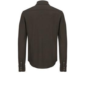 df865df467996 super.natural Comfort - T-shirt manches longues Homme - marron sur ...